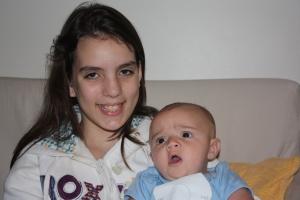 Eu e a prima Alexia.