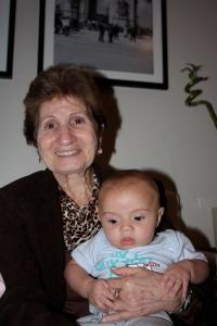 Eu e minha tia avó Adir.