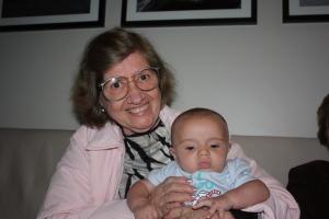 Eu e minha tia avó Naná.